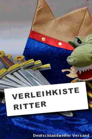 Ritter Party Verleihkiste