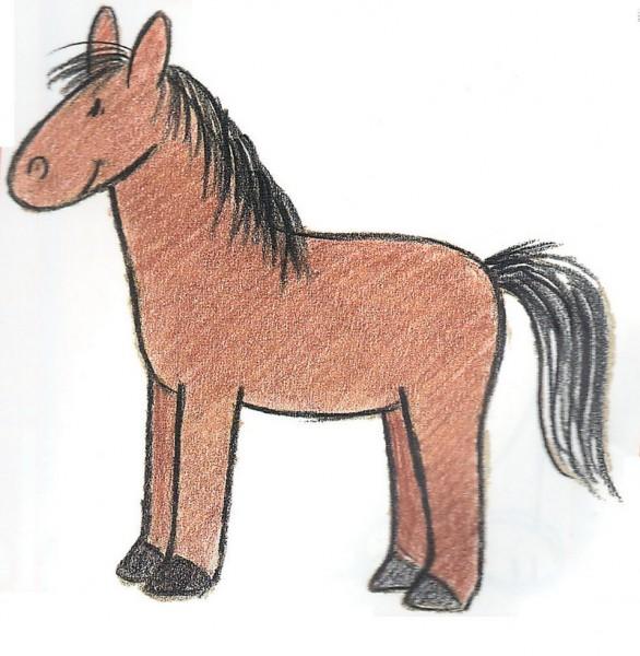 Pferdegeburtstag für Mädchen mit Verkleidungskiste