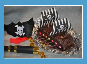 Kindergeburtstagskuchen Rezepte Piratenschiff