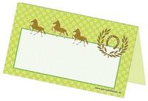 Tischkärtchen - Namenskärtchen für Pferdegeburtstag oder Ponyparty
