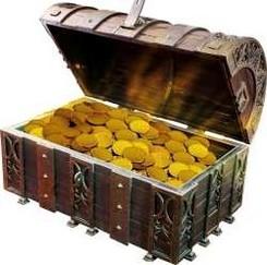 Piraten Schatztruhe für Mitgebsel und Giveaways