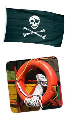 Piratenparty Spiele für Kinder