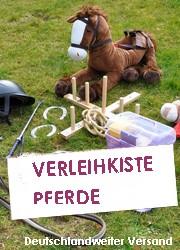 Mottoparty Verleihkiste für Kinder Pferdegeburtstage